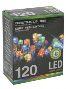 Lampki choinkowe 120 LED multikolor